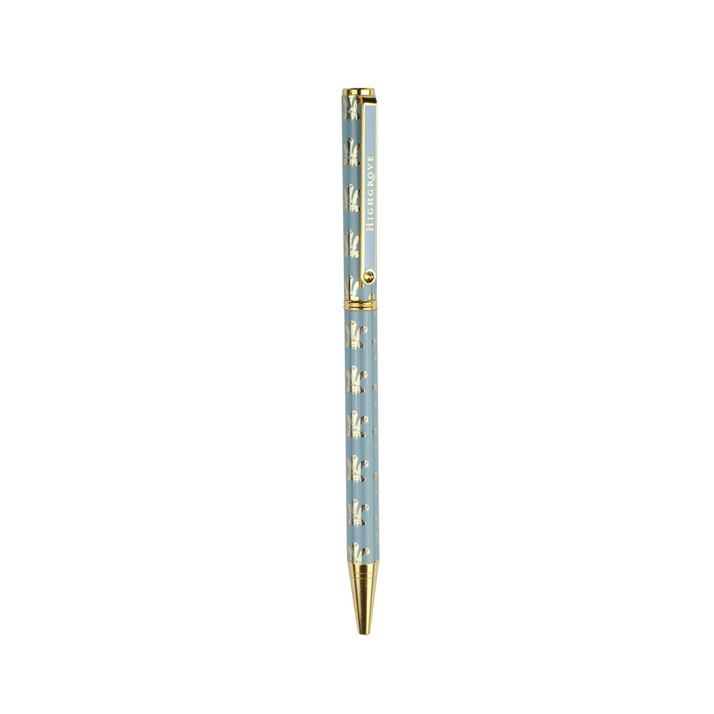 Highgrove Feathers Duck Egg Blue Pen