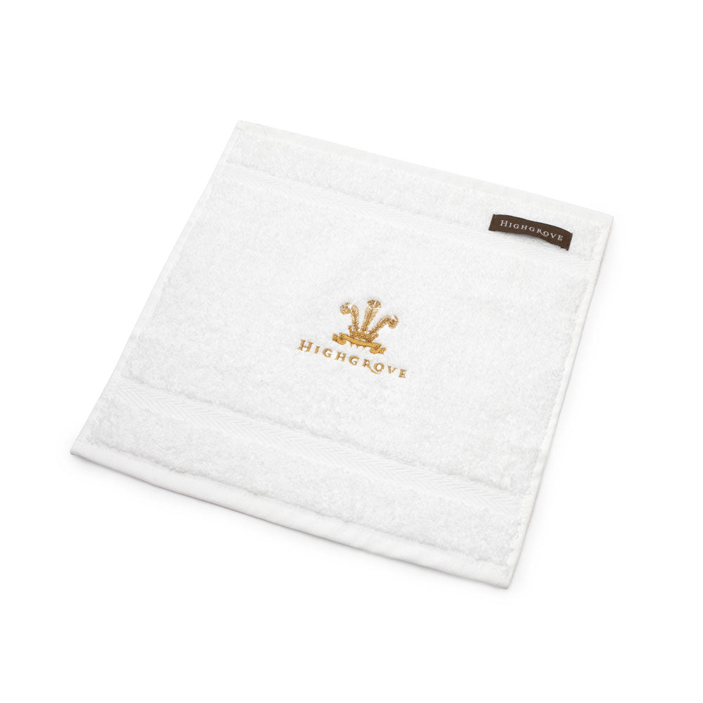 Highgrove Feathers Face Cloth