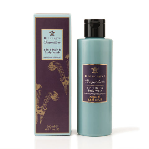 Highgrove Signature 2 in 1 Organic Hair & Body Wash