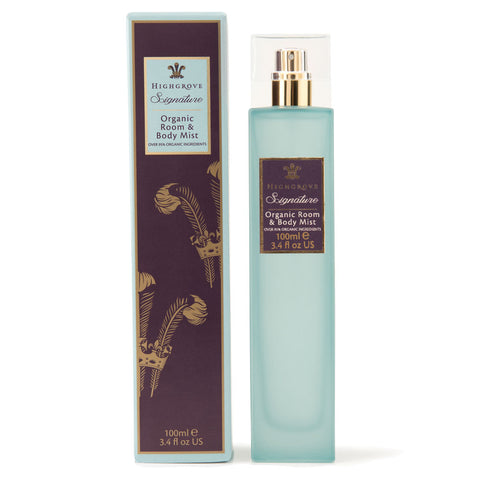 Highgrove Signature Organic Room & Body Mist