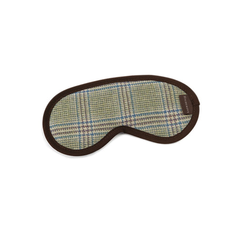 Prince of Wales Check Eye Mask