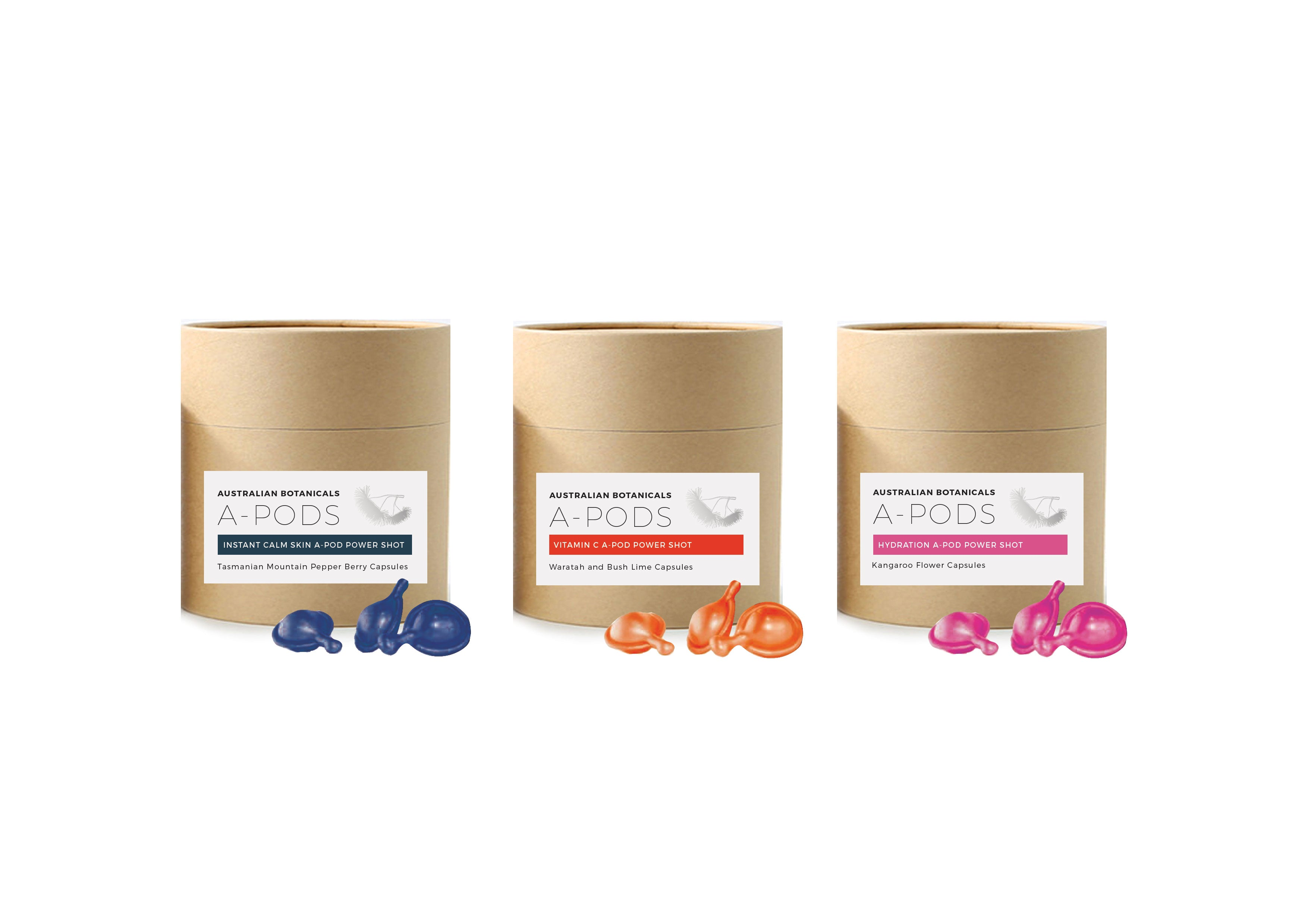 Anti-Aging & Anti-Pigmentation A-PODS with Strawberry Gum - In-Flight Magic
