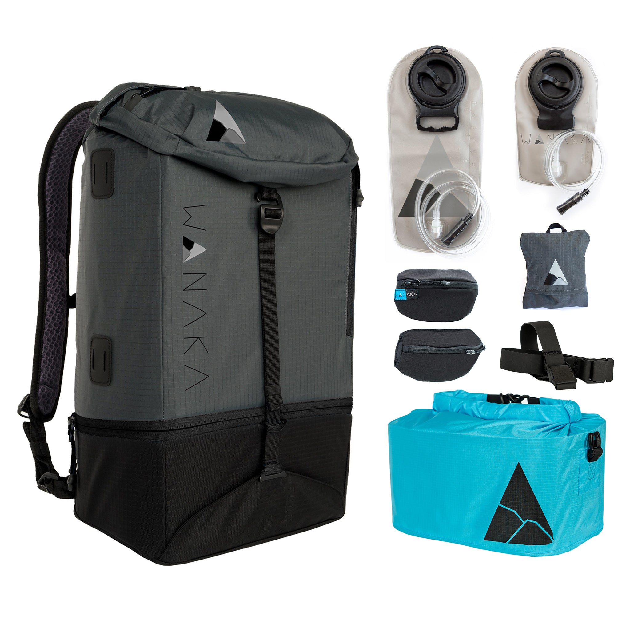 Charcoal/Black Complete Adventure Package