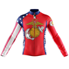 US MARINES CORPS Cycling Jersey Long Sleeve
