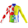 Tour De France Leaders KOM Sprinters Long Sleeve Cycling Jersey