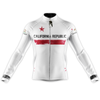 California Cycling Jersey Long Sleeve - White