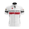 California Cycling Jersey Short Sleeve - White