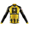 US Army Cycling Jersey Long Sleeve