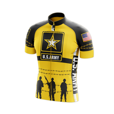 US Army Cycling Jersey Short Sleeve