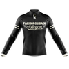 Paris to Roubaix Retro Cycling Jersey Long Sleeve