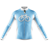 BIKE FOREVER Cycling Jersey Long Sleeve