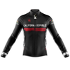 California Cycling Jersey Long Sleeve - Black