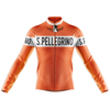 Retro San Pellegrino Long Sleeve Cycling Jersey