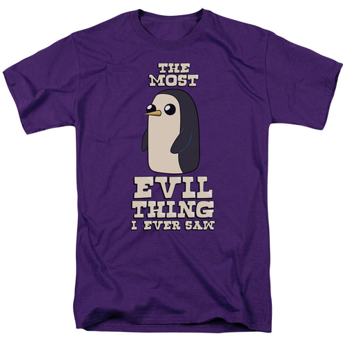 Adventure Time - Evil Thing Short Sleeve Adult 18/1