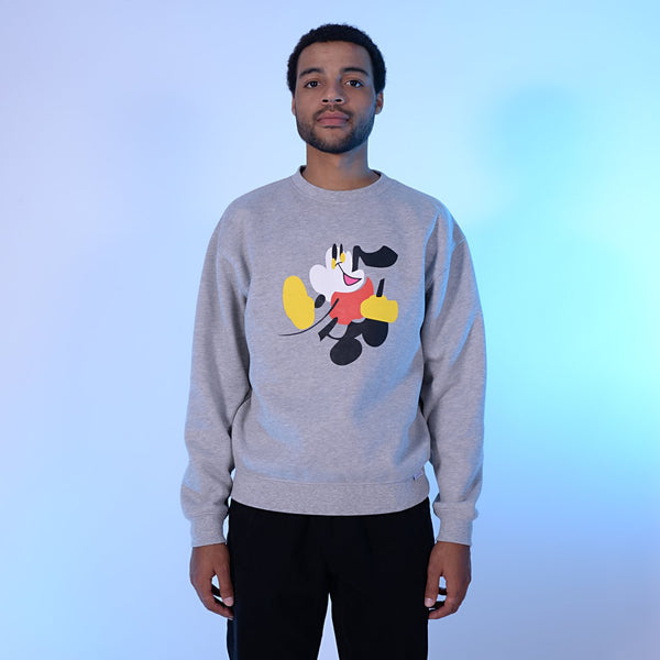 Walter Crew Sweat [Heather Grey]