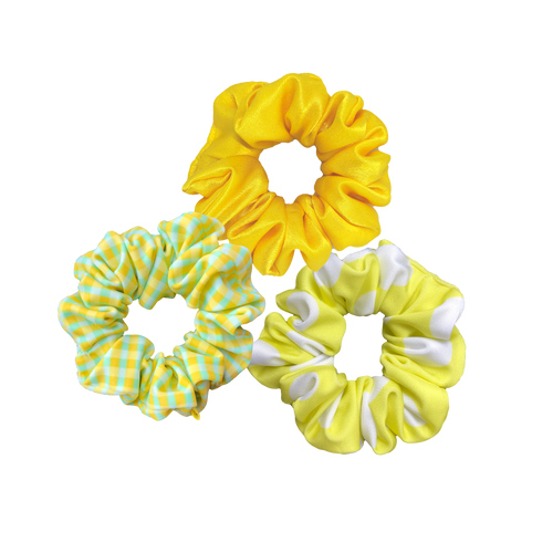 'FIFTY SHADES OF YELLOW' SCRUNCHIE PACK