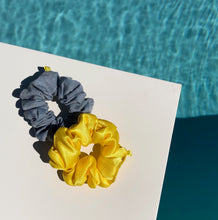 Load image into Gallery viewer, 'SUNSHINE' SATIN SCRUNCHIE