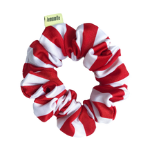 Load image into Gallery viewer, 'CANDY CANE LANE' SCRUNCHIE