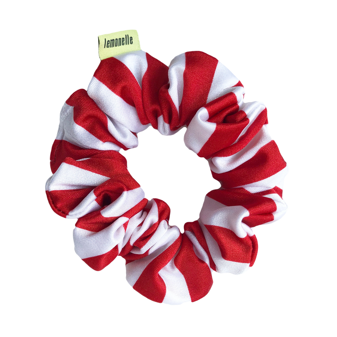 'CANDY CANE LANE' SCRUNCHIE