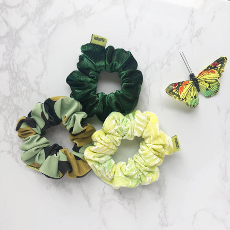 'GREENIE BABIES' SCRUNCHIE PACK