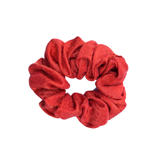 'HAUTE' TEXTURED SILK SCRUNCHIE