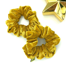 Load image into Gallery viewer, 'HONEY DRIP' VELVET SCRUNCHIE