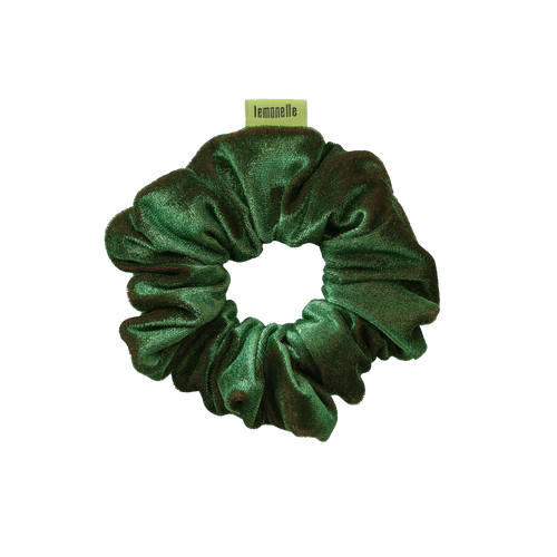 'OLIVE YOU' VELVET SCRUNCHIE