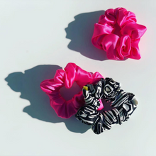 Load image into Gallery viewer, 'LITERALLY' PINK SILK SCRUNCHIE
