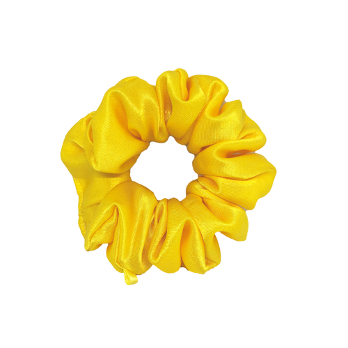 'SUNSHINE' SATIN SCRUNCHIE