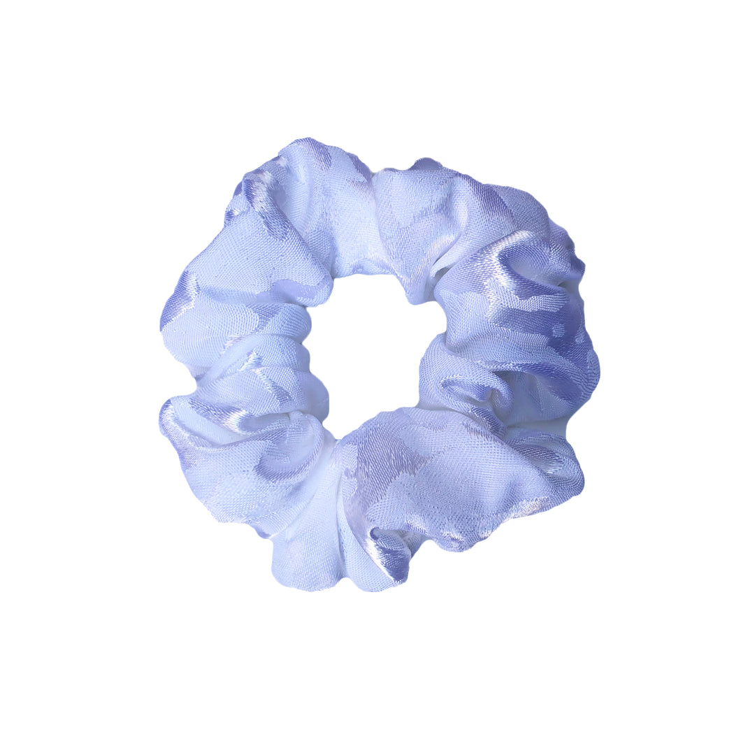 'ICE QUEEN' SILK SCRUNCHIE