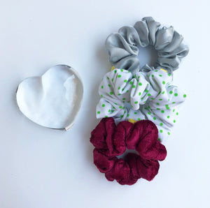 'TWO FACED' SCRUNCHIE PACK