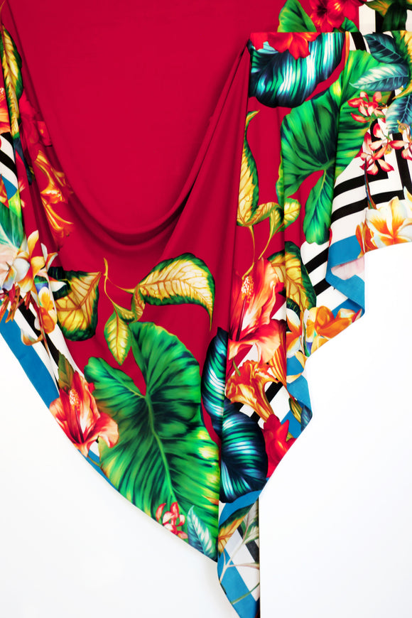 PANNEAU SCARF ME TROPICAL | VISCOSE