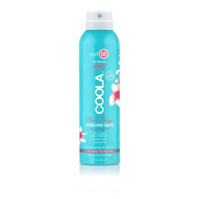 COOLA Eco-Lux Sport SPF 50 Organic Sunscreen Spray