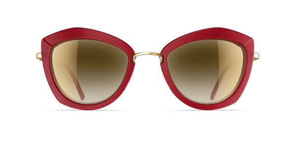 neubau sarah 3D sunglasses - electric red/glorious gold