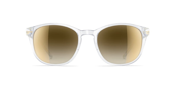 neubau sam sunglasses - golden crystal edition