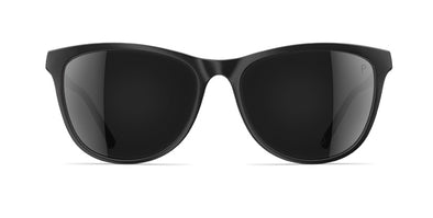 neubau valerie sunglasses - black coal matte/polarized