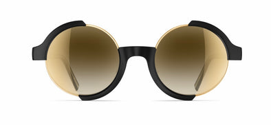 Neubau Sigmund & Carl Sunglasses - Black matte/glorious gold