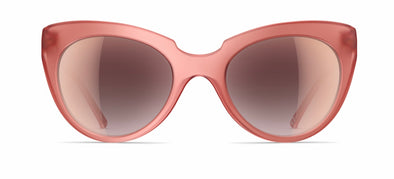 neubau carla sunglasses - faded corale matte