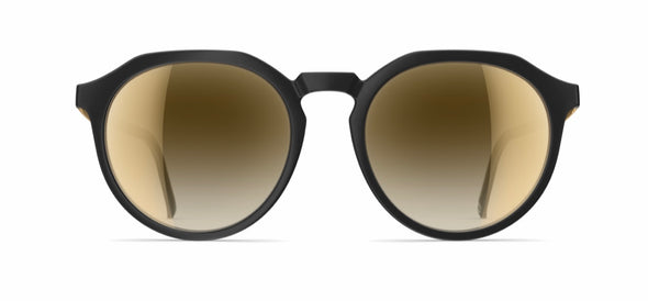 neubau eugene sunglasses - black coal matte/bronze