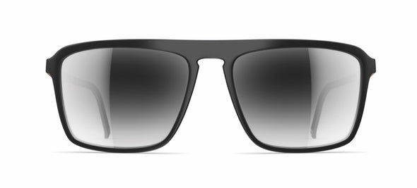 neubau fabio sunglasses - black coal matte/graphite