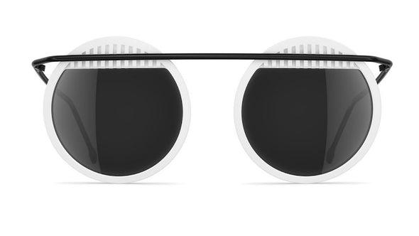 neubau Walter & Wassily Special Edition Sunglasses - Snow White/Black Matt