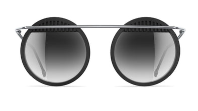 neubau Walter & Wassily Special Edition Sunglasses - Black coal/eclectic silver
