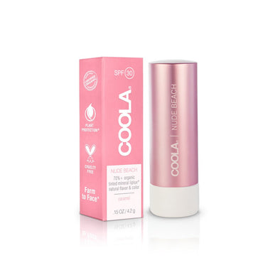 COOLA Mineral Liplux® SPF 30 Organic Tinted Lip Nude Beach