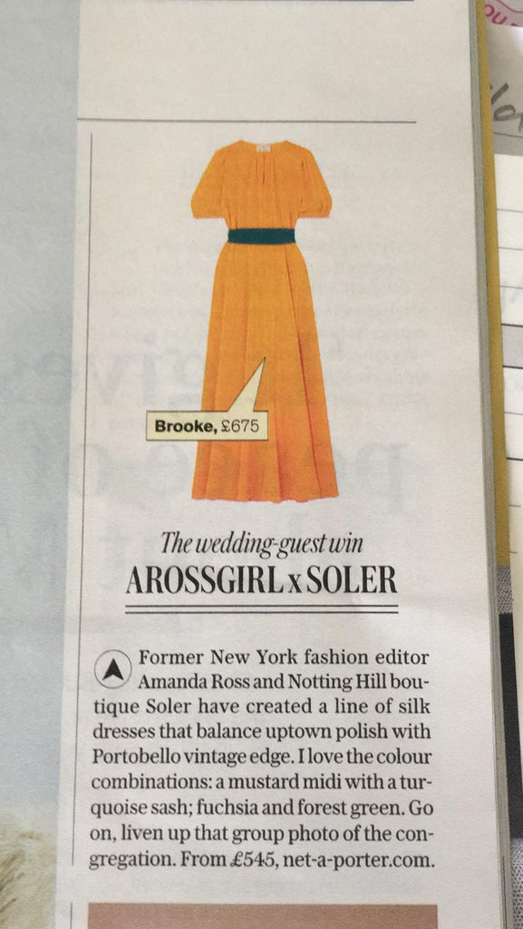 ARossGirl❤️Soler in the Sunday Telegraph