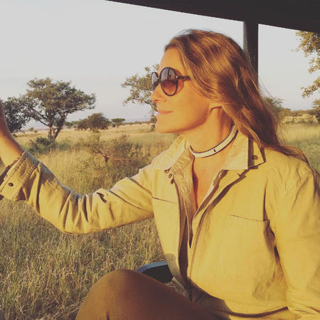 Aerin Lauder on Safari, Our Favorite Muse