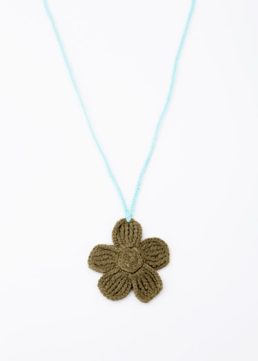 ARossGirl Olive Flower Necklace