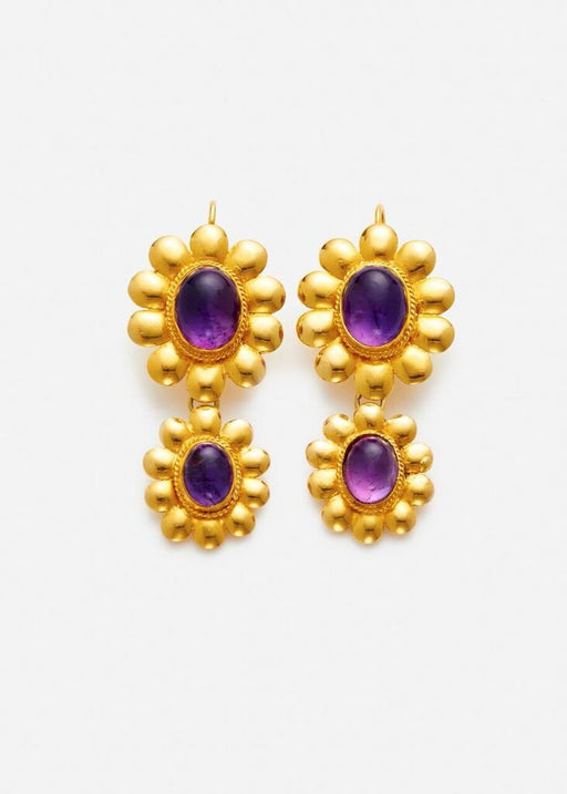 ARossGirl x Sanjay Kasliwal Double Drop Earrings