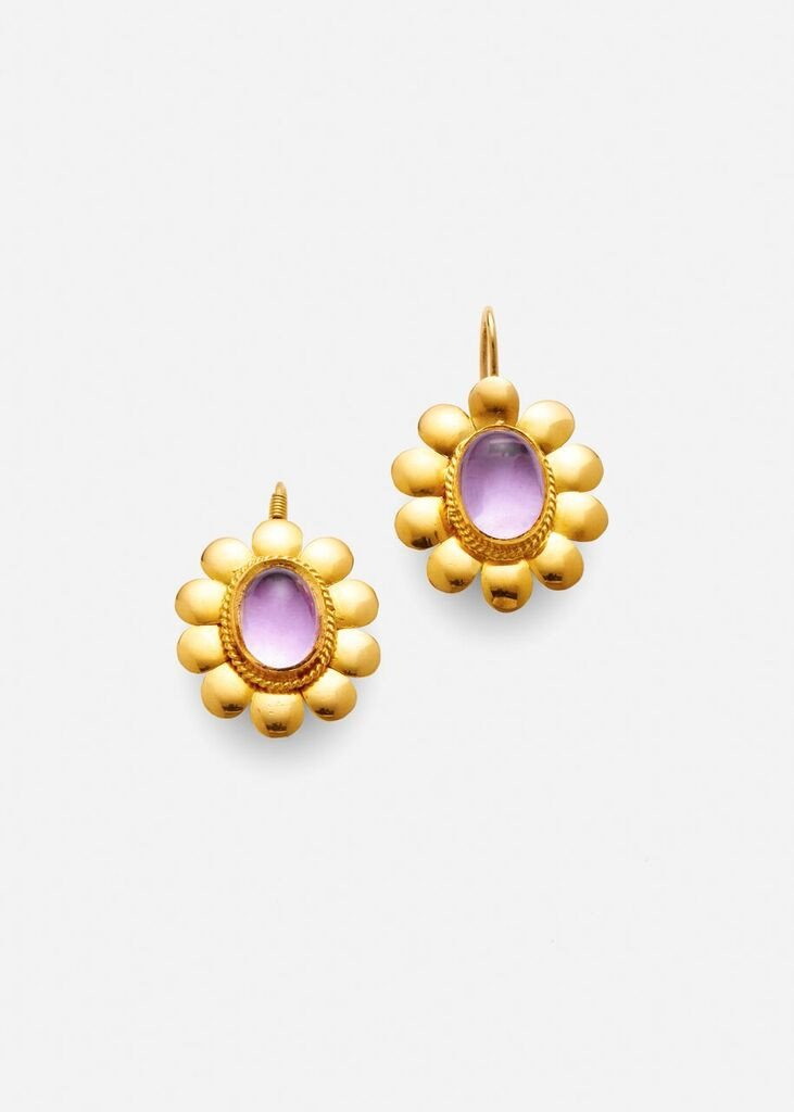 ARossGirl x Sanjay Kasliwal Drop Earrings