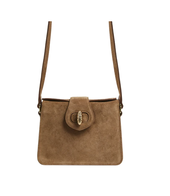 Mehry Mu Mini Neb Bag Rust Suede