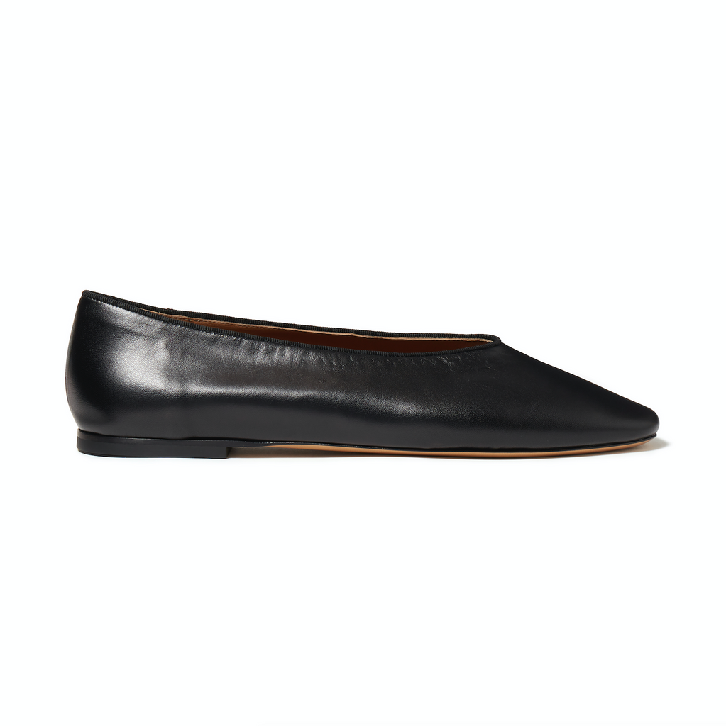 Le Monde Beryl Black Regency Slipper
